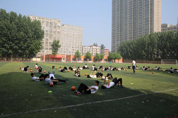 白沙中学李杨老师的精彩课堂