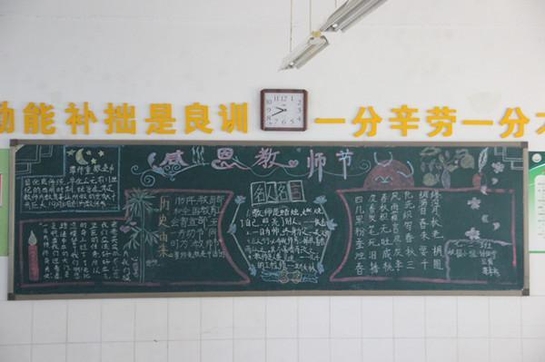 教师节优秀黑板报展示-传承与创新 我们这样做郑东新区教育信息网图片