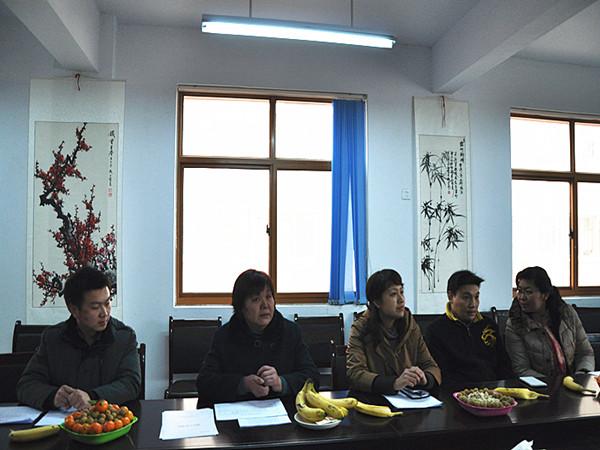 龙子湖幼儿园迎接区教文体局年终考核郑东新区教育