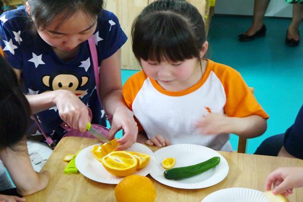 亲子创意水果拼盘3