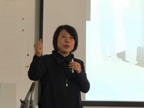 赵群筠老师为大家分享了学校的管理艺术