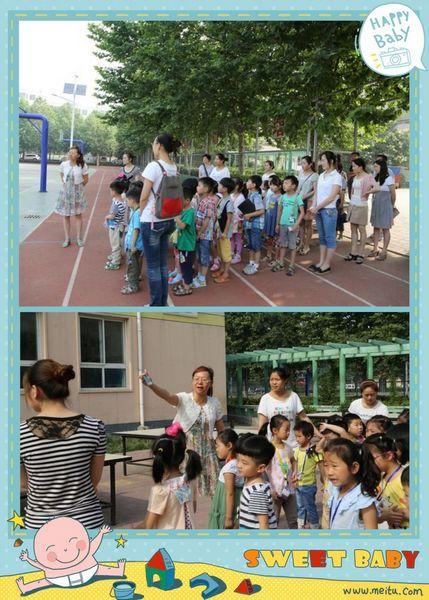 聚源路西校区迎来了一批可爱的小客人——福泽门幼儿园的大班小朋友.