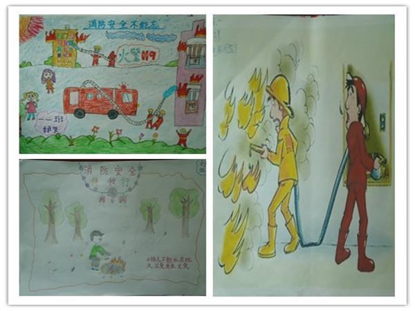 制作手抄报,消防记心中郑东新区教育信息网
