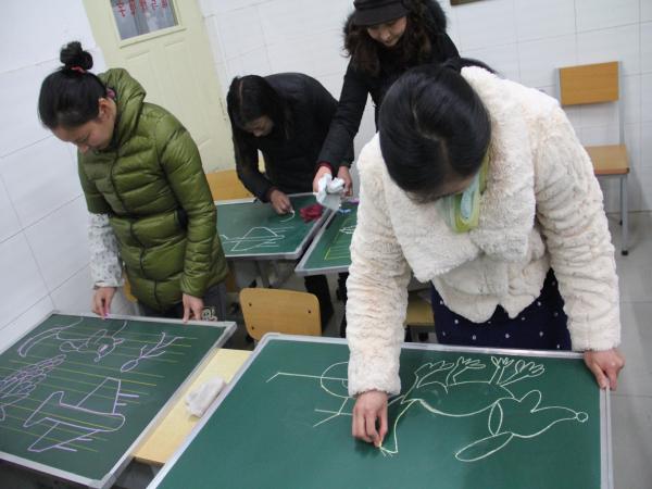 康平小学举行教师基本功达标比赛