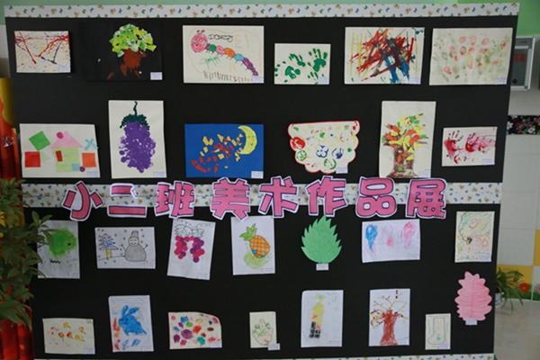 小班幼儿创意美术作品图片