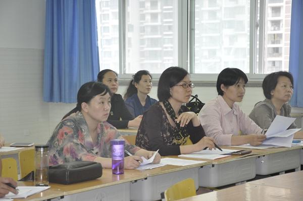 郑东新区中学语文学科说课考核活动进行郑东新区教育