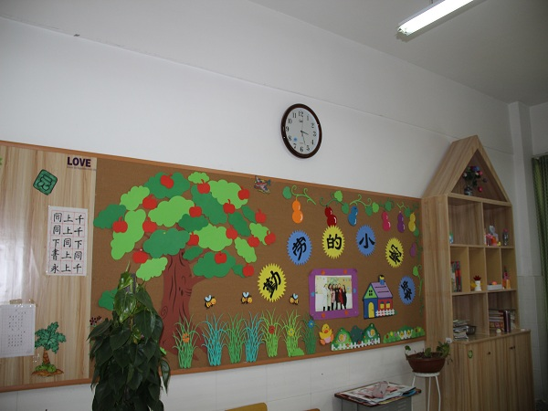 小学墙面设计图案大全
