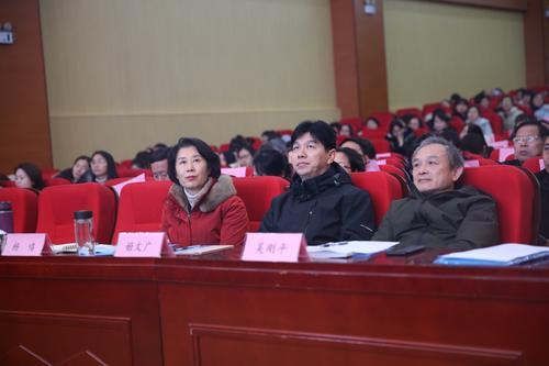 郑州市教育局教学研究室主任姬文广出席会议